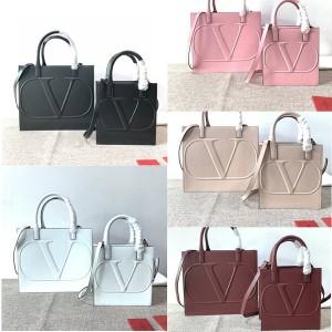 Valentino new full leather VLOGO Walk tote bag shopping bag