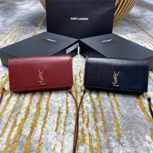 ysl Saint Laurent MONOGRAM smooth leather strap mobile phone bag 635095