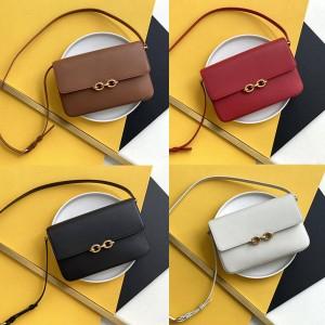 ysl Saint Laurent MAILLON smooth leather shoulder bag 649795