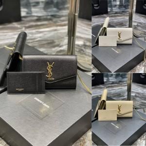 ysl Saint Laurent UOTOWN Mini Chain Envelope Bag 607788
