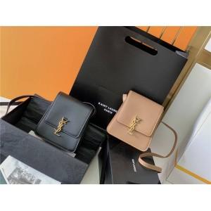ysl Saint Laurent KAIA vegetable tanned leather vertical shoulder bag 668809