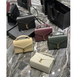 ysl Saint Laurent grain leather CASSANDRA medium handbag 578000