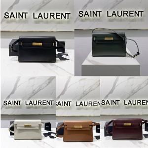 ysl Saint Laurent MANHATTAN BOX leather shoulder bag 579271