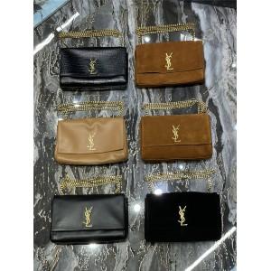 ysl Saint Laurent KATE medium leather double-sided handbag 553804