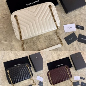 Saint Laurent YSL official website JOAN quilted leather camera bag 671691