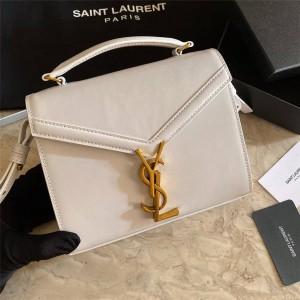 ysl CASSANDRA mini BOX Saint Laurent leather handbag 623930/532753