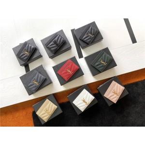 ysl Saint Laurent MONOGRAM caviar leather card holder 423291