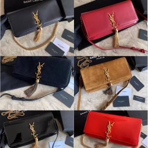 ysl Saint Laurent KATE 99 tassel bag handbag lambskin bag 604276