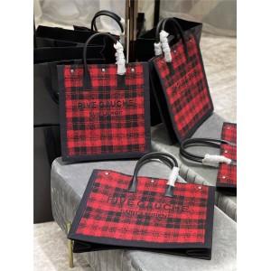 Saint Laurent YSL RIVE GAUCHE Canvas Tote Bag Shopping Bag 631682/509415