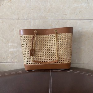 ysl Saint Laurent new TOY horizontal woven leather shopping bag 655143
