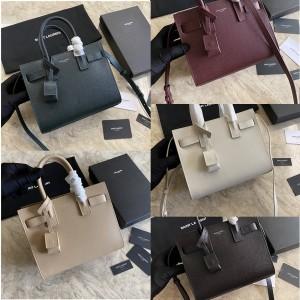 YSL Saint Laurent CLASSIC SAC DE JOUR grain embossed leather bag 392035/398711