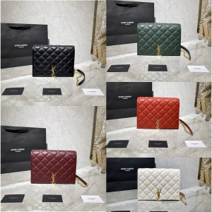 ysl Saint Laurent BECKY square quilted lambskin mini chain bag 629246