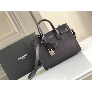 ysl Saint Laurent SAC DE JOUR caviar leather organ bag 392035/421863