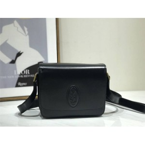 ysl Saint Laurent LE 61 smooth leather saddle bag 568569/568568
