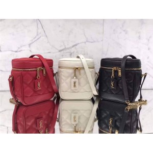 ysl Saint Laurent 80's VANITY handbag cosmetic bag 649779