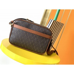 YSL Saint Laurent LE MONOGRAMME MONOGRAM coated canvas handbag camera bag 669957