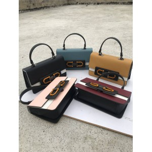 Furla handbag new color matching leather Bellaria shoulder bag