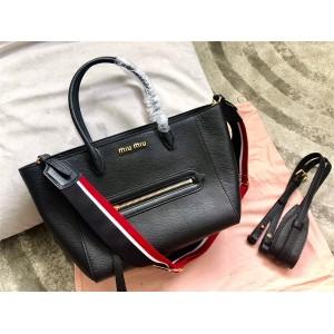 MiuMiu handbag new goatskin shopping bag bat bag 5BG137