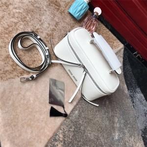 MiuMiu handbag new leather shoulder shoulder cosmetic bag box bag 5BH122