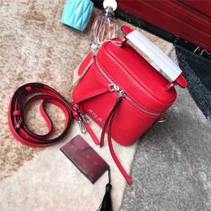 MiuMiu handbag new goatskin cosmetic bag box bag 5BH121
