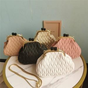 miumiu official website new Belle nappa leather handbag 5BP016