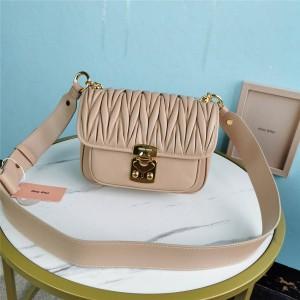 miumiu official website nappa leather shoulder bag 5BD161